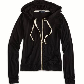 FULL ZIP HOODIE MADE IN ITALY BY AEO