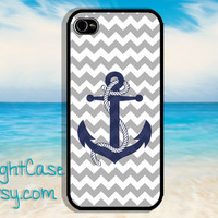 Anchor CHEVRON IPHONE 5S CASE Navy Sailor iPhone 4 Case iPhone 5 Case iPhone Case Samsung Galaxy S4 S3 Cover iPhone 5c case iPhone 4s case