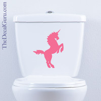 Unicorn | Toilet Decal | The Decal Guru