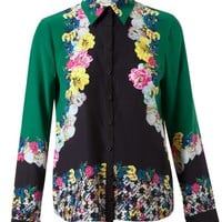 ERDEM | Floral Printed Silk Blouse | Browns fashion & designer clothes & clothing