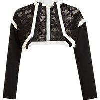 ANTONIO BERARDI | Lace Bolero | Browns fashion & designer clothes & clothing