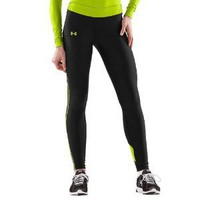 Women's UA ColdGear Colorblock Compression Leggings Bottoms by Under Armour
