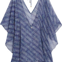 Vix Curacao printed chiffon kaftan – 45% at THE OUTNET.COM