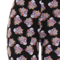 Carrie's Closet - sugar skull plus size leggings