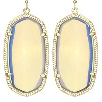 Danielle Earrings in Clear Iridescent - Kendra Scott Jewelry