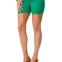 Motherhood Maternity: Secret Fit Belly(tm) 5 Pocket Maternity Shorts