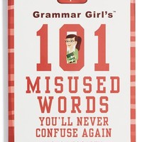 'Grammar Girl's 101 Misused Words You'll Never Confuse Again' Book | Nordstrom