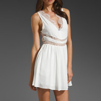 KEEPSAKE Wide Eyes Dress in Ivory at Revolve Clothing - Free Shipping!