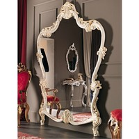 Wall-mounted framed mirror 11624 Villa Venezia Collection by Modenese Gastone group