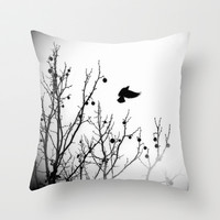 Free Soul Throw Pillow by DuckyB (Brandi)