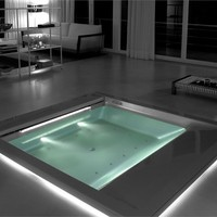 Hydromassage built-in mini pool spa SEASIDE | T07 Seaside Collection by TEUCO GUZZINI | design Talocci Design