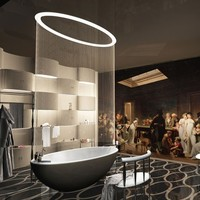 Oval bathtub Oval Room Collection by Visionnaire | design Stefano Pirovano