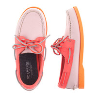crewcuts Girls Sperry Top-Sider Authentic Original 2-Eye Boat Shoes In Tri-Color