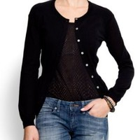 Mango Women's Button Cardigan