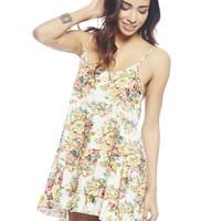 Floral Tank Babydoll Dress | Wet Seal