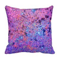 purple graffiti splatter paint