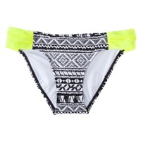 Xhilaration® Junior's Hipster Swim Bottom -Geometric Print