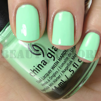 China Glaze Nail Lacquer (81328 - HIGHLIGHT OF MY SUMMER) Sunsational Cremes