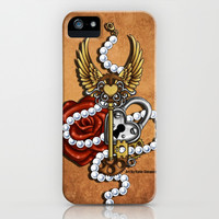 Key To My Heart iPhone & iPod Case by Katie Simpson | Society6
