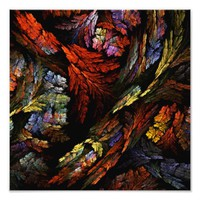Color Harmony Abstract Art Photo Print