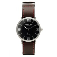 South Lane Signature Kensington Watch Brown