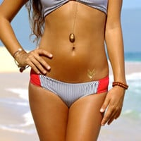 REVERSIBLE: WAIMEA Brazilian Bikini Bottoms 2in1