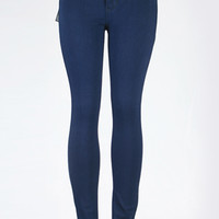 In The Groove High Waisted Denim Skinny Jean | Bloody-Fabulous