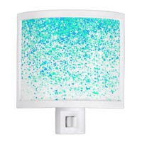 sparkly mint night light