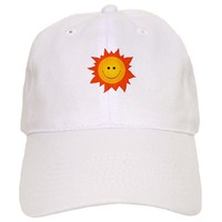 Cute Happy Smiling Sun Baseball Cap