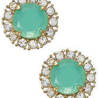 kate spade new york Gold-Tone Secret Garden Stud Earrings