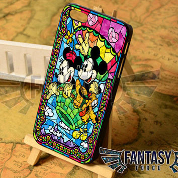 Mickey and Minie Mouse Disney for iPhone 4/4s/5/5s/5c - iPod 4/5 - Samsung Galaxy s3i9300/s4i9500 Case
