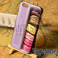 Macarons Laduree Color for iPhone 4/4s/5/5s/5c - iPod 4/5 - Samsung Galaxy s3i9300/s4i9500 Case
