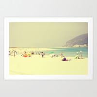 Troia beach Art Print by ingz