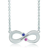 Infinity Necklace Custom Jewelry, Necklace & Pendants | Pugster.com