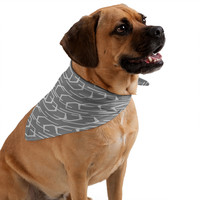 Heather Dutton Going Places Slate Pet Bandana