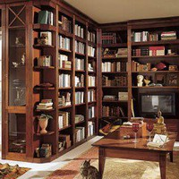 20 Cool Home Library Design Ideas ?  Photo 0