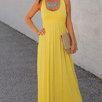 Easy As Pie Maxi, Yellow