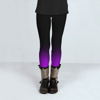 Fade to Purple by Sonder Sky (Leggings)