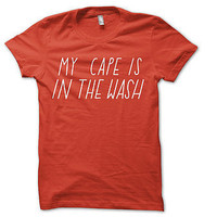 my cape is in the wash kids t-shirt by the joy of ex foundation | notonthehighstreet.com