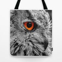 ORANGE OF MY EYE Tote Bag by Catspaws | Society6