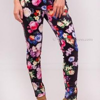 Pretty floral daze leggings