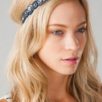 NEWARK BEADED HEAD WRAP