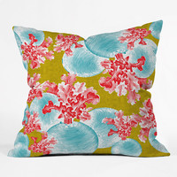 Betacyan Throw Pillow | something special every day