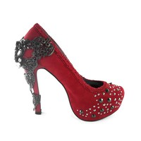 Amina High Heels by Hades (Red)