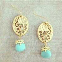 Cassiodorus Earrings - Handcrafted