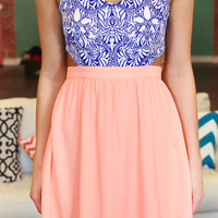 Lady Love Dress - Light Coral