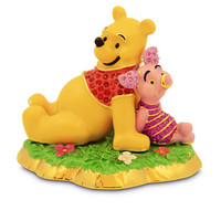 Winnie the Pooh and Piglet Jeweled Figurine by Arribas Brothers