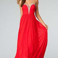 Strapless Evening Gown JVN by Jovani
