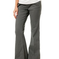 A Pea in the Pod: Secret Fit Belly(tm) Twill Wide Leg Maternity Pants