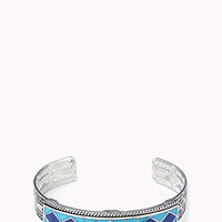 Tribal-Inspired Lacquered Cuff